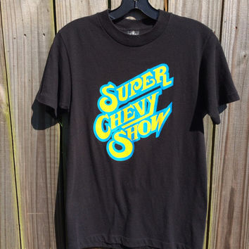 Vintage 1990s Super Chevy Show Tee