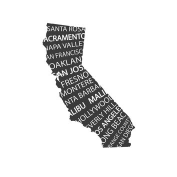 wall decals - The Golden State