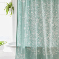 Cece Lace Shower Curtain | Urban Outfitters