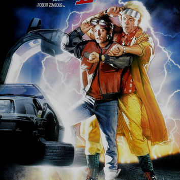 Back to the Future II Movie Poster 11x17