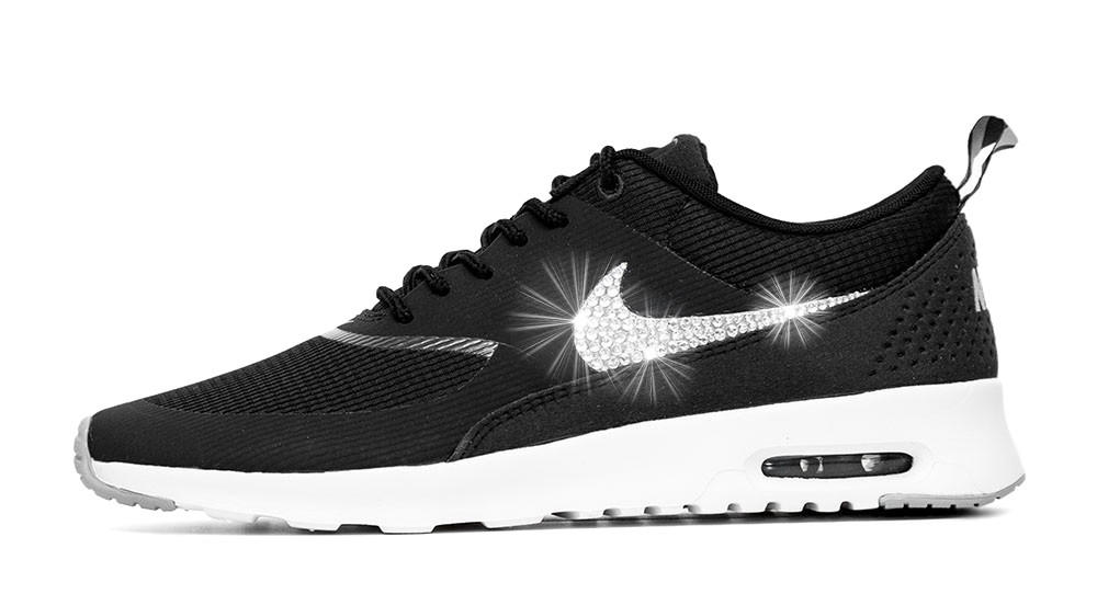 Nike Running Shoes With Rhinestones
