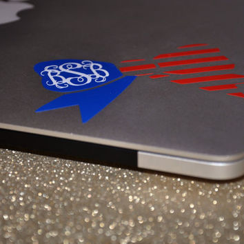 American Bow Decal for Car/Laptop/Phone/Tablet/Notebook