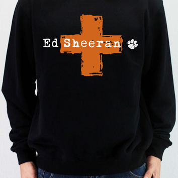 ED SHEERAN PLUS Shirt Sweatshirt Sweater Unisex - silk screen handmade