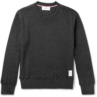 Thom Browne - Ribbed Cotton Top