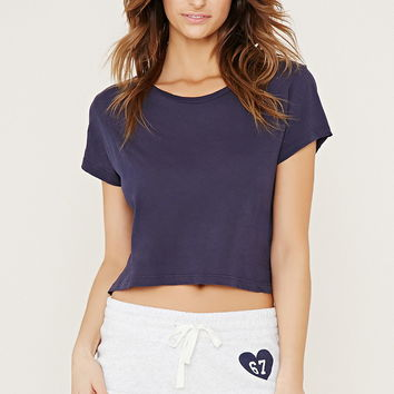 67 Graphic PJ Shorts | Forever 21 - 2000187021