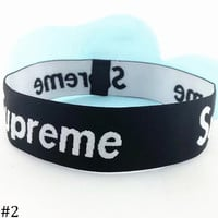 Supreme men's and women's knitted running sweat-absorbent hood headband F0701-1 #2