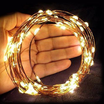 Goodland LED String Lights 2M 3M Christmas Garland Waterproof Copper Wire With Battery LED Fairy Lights Decorations for Home