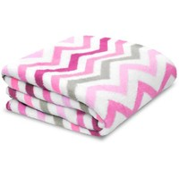 Little Starter Toddler Chevron Blanket, Available in Multiple Colors - Walmart.com