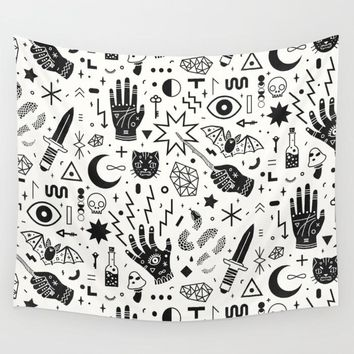 Methods of Magic Fabric Wall Tapestry