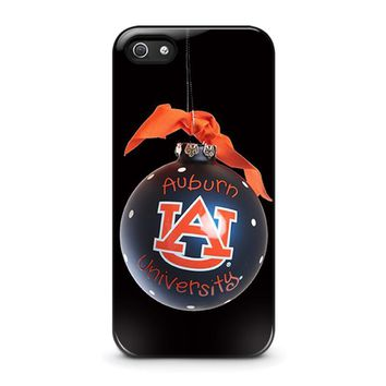 auburn university war eagle iphone 5 5s se case cover  number 1