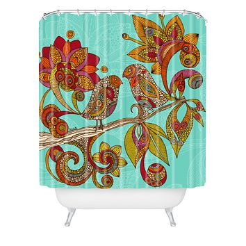 Valentina Ramos Hello Birds Shower Curtain