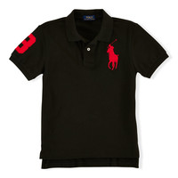 BIG PONY COTTON POLO SHIRT