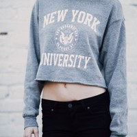 NANCY NY UNIVERSITY SWEATSHIRT