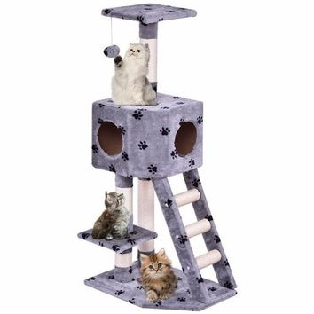 Condo House Pet Cat Tree Play House Tower