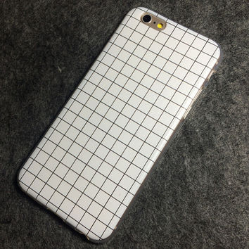 Simple Lattice iPhone 5s 6 6s Plus Case