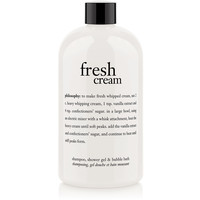fresh cream | shampoo, shower gel & bubble bath | philosophy