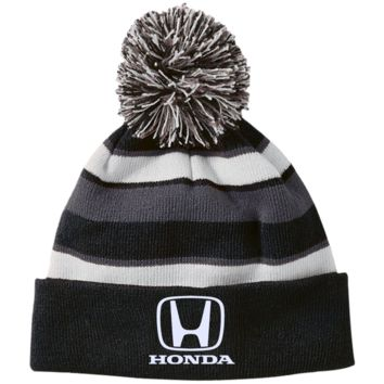 Honda 223835 Holloway Striped Beanie with Pom