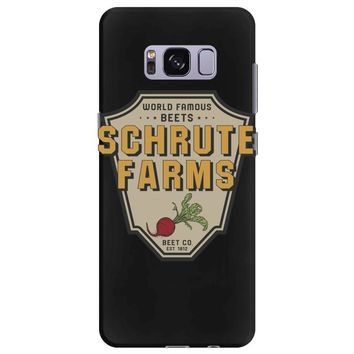 World Famous Beets Schrute Farms Samsung Galaxy S8 Plus