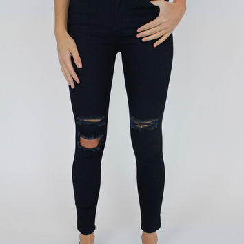 Nic High Rise Skinny Ankle Jeans