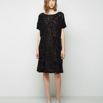A-Line Tie Dress by Suno