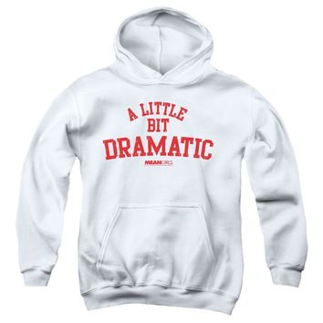 Mean Girls Kids Hoodie A Little Bit Dramatic White Hoody