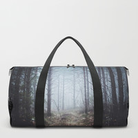 No more roads Duffle Bag by happymelvin