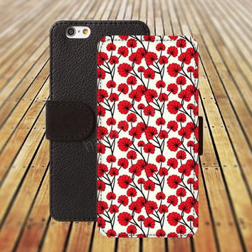 iphone 5 5s case dream flowers iphone 4/ 4s iPhone 6 6 Plus iphone 5C Wallet Case , iPhone 5 Case, Cover, Cases colorful pattern L100