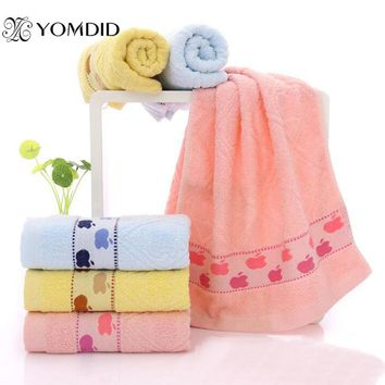 40x90 cm Jacquard Bath Towel 3 Colors Available Cute Rectangle Towel Toalla de bano jacquard 3 colores disponibles
