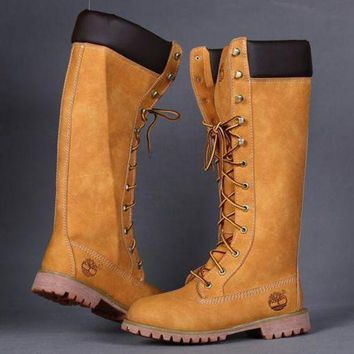 Timberland Rhubarb boots for men and women shoes waterproof Martin boots lovers I-3