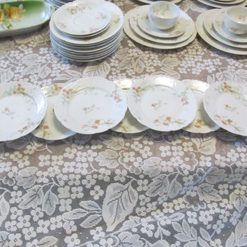 Limoges Set 9 Desert Plates Limoges France The St Lazare Haviland Co Antique Plates JM D&S Limoges Wedding Plates Fine Dining Luxury Dishes