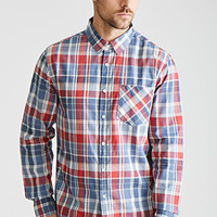 Plaid Collared Shirt