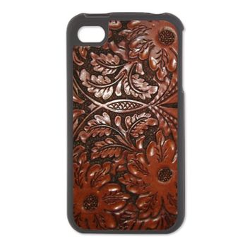 Tooled Leather iPhone 4/4S Switch Case