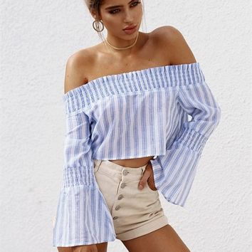 Lucia Off Shoulder Top - Tops by Sabo Skirt