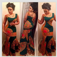 African Women Clothing African Dress African  print