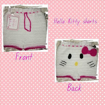 Hello Kitty shorts, infant to toddler shorts, clothing