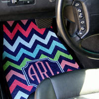 Personalized Car Mats, Monogrammed Car Mats, Custom Car Mats, Personalized Car Accessory, Monogrammed Car Accessory, Front Car Mats