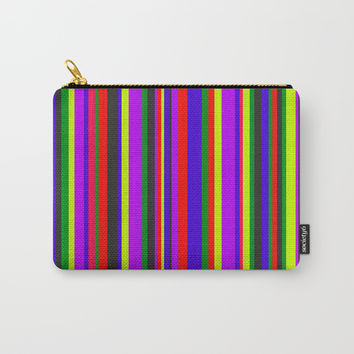 City Lines #society6 Carry-All Pouch by Azima