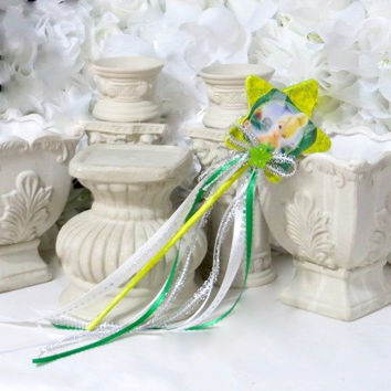 Tinkerbell - Princess Accessories - Princess Wand - Princess Gift -Tinkerbell Birthday - Fairy Party Favor - Fairy princess - Dress Up Girls