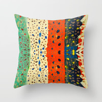 autumn thoughts by elisavet Throw Pillow by Azima