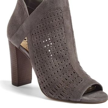 Vince Camuto Cranita Perforated Bootie (Women) | Nordstrom