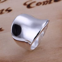 Stylish Thumb Shape Copper Ring