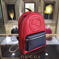 GUCCI NEW STYLE LEATHER JACKIE SOFT BACKPACK BAG
