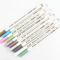 STA Metallic Shade Brush Pen 10-pack
