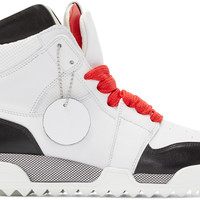 White Korban High-Top Sneakers