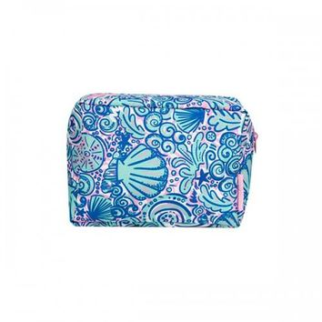 SS Cosmetic Bag - Swirly