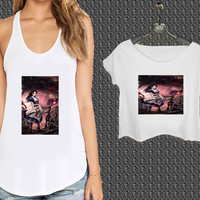 Alice in Wonderland evil For Woman Tank Top , Man Tank Top / Crop Shirt, Sexy Shirt,Cropped Shirt,Crop Tshirt Women,Crop Shirt Women S, M, L, XL, 2XL*NP*