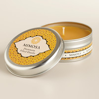 Mimosa Flower Hammam Candle Tin - World Market