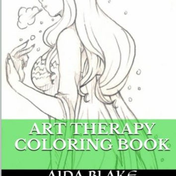 Art Therapy Coloring Book Anti Stress Books For Adults