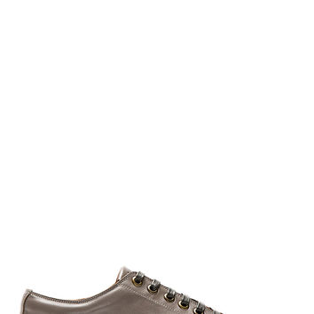 Marc Jacobs Grey Leather Sneakers