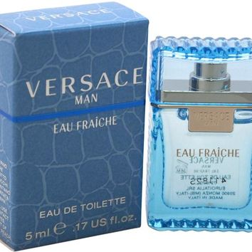 Men Versace Versace Man Eau Fraiche EDT Splash (Mini) Case Pack 3